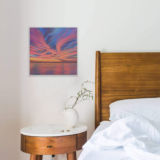 Seal Beach Sunset 01 on Bedroom Wall